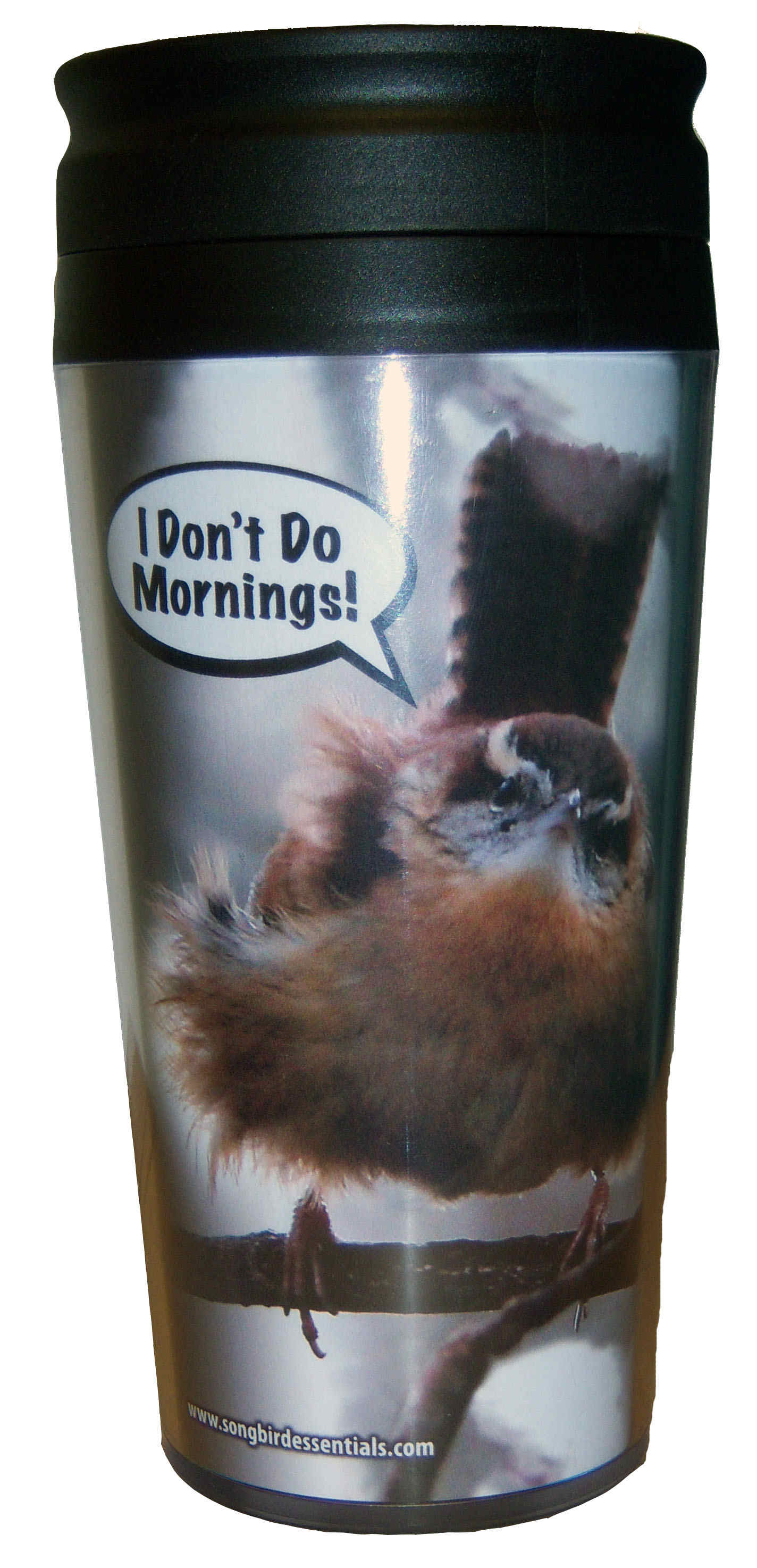 Poly Thermal Mug I Don't Do Mornings