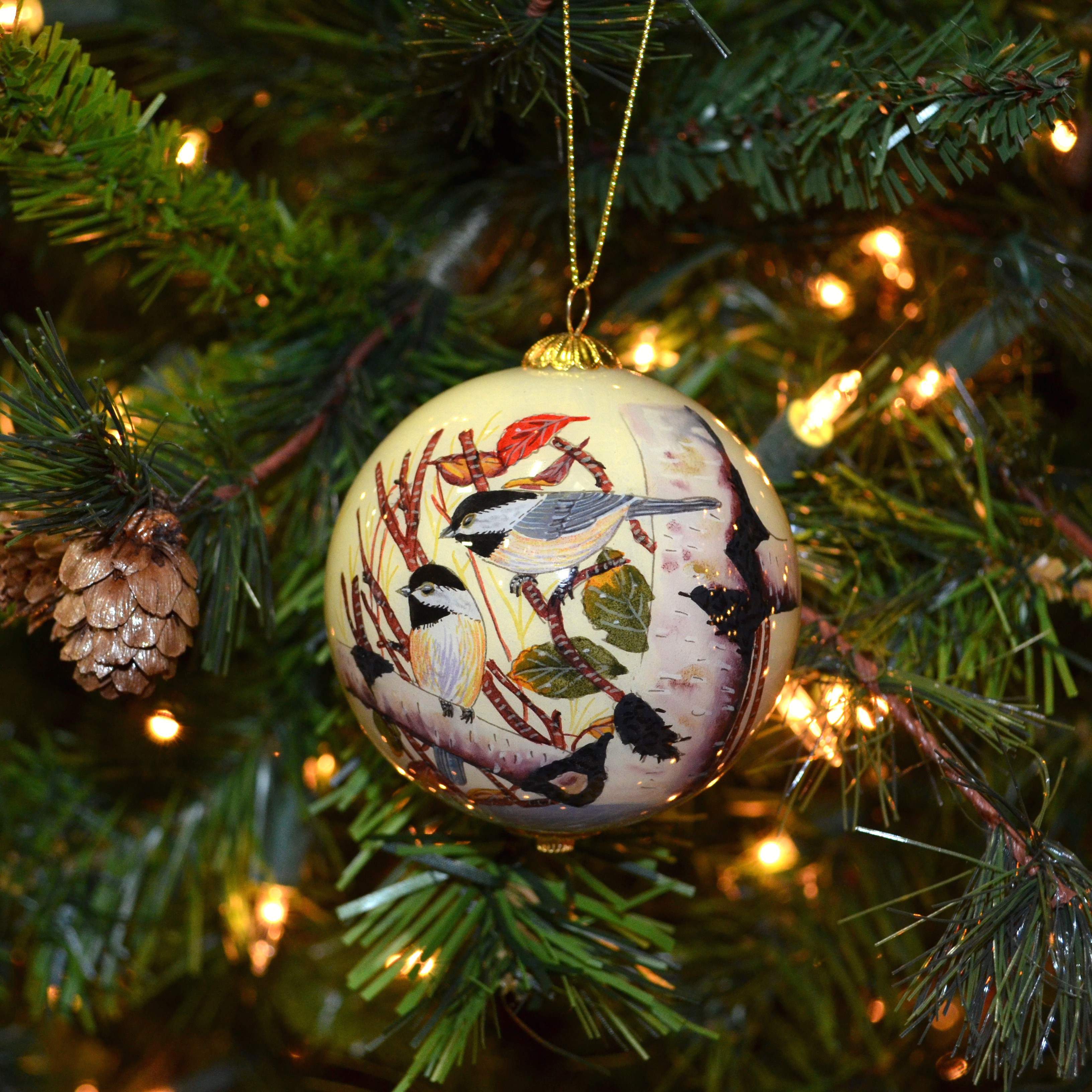 Ornament, Chickadees
