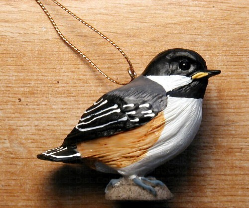 Baby Chickadee Ornament