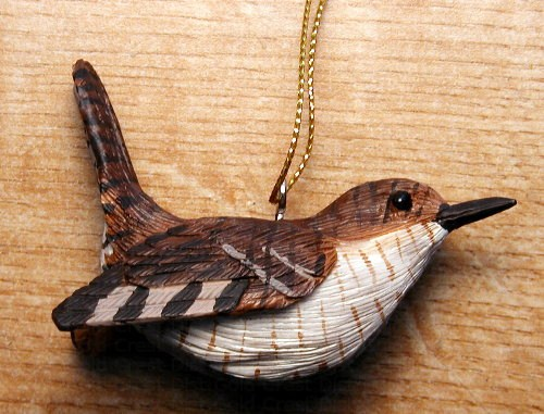 Wren Ornament