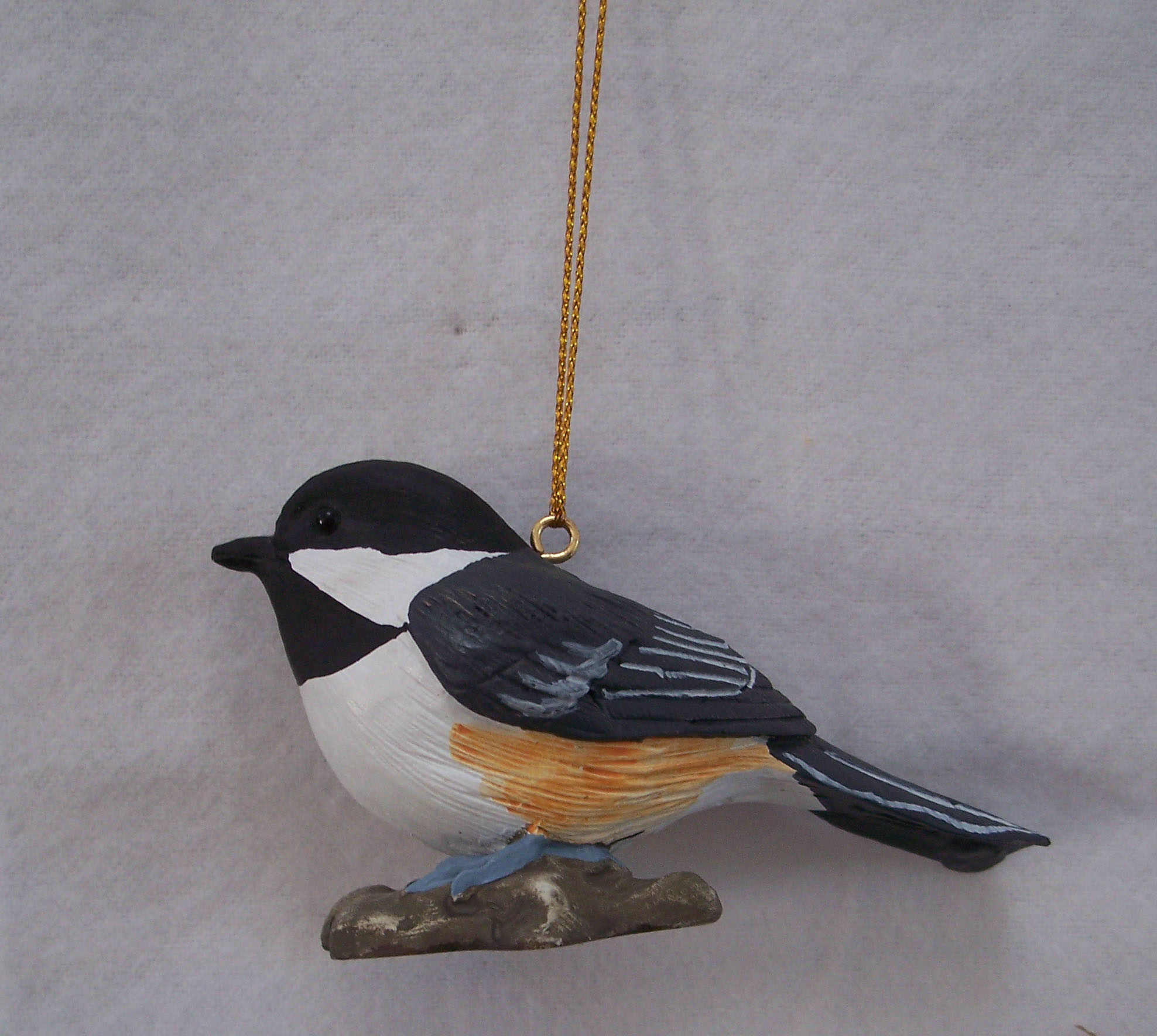 Lifesize Chickadee Ornament