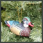 Woodduck Decoy Ornament