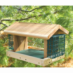 Large Plantation with 2 Suet Baskets