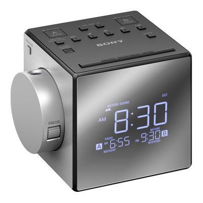 Projection Clock Radio Nature