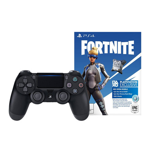 PS4 Jet Black Fortnite FY19 US