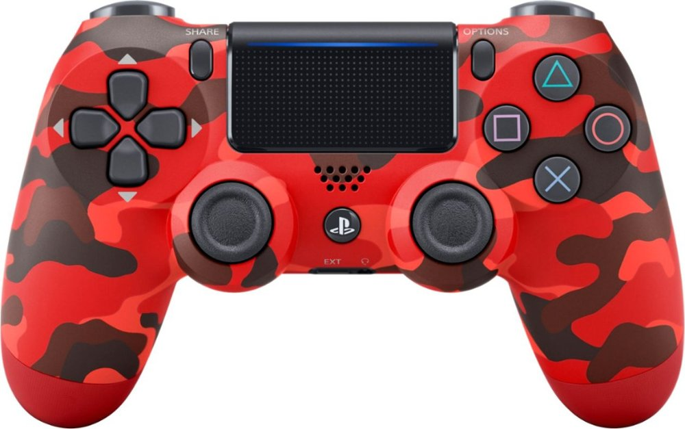 DualShock4 WL Ctlr RedCamo PS4