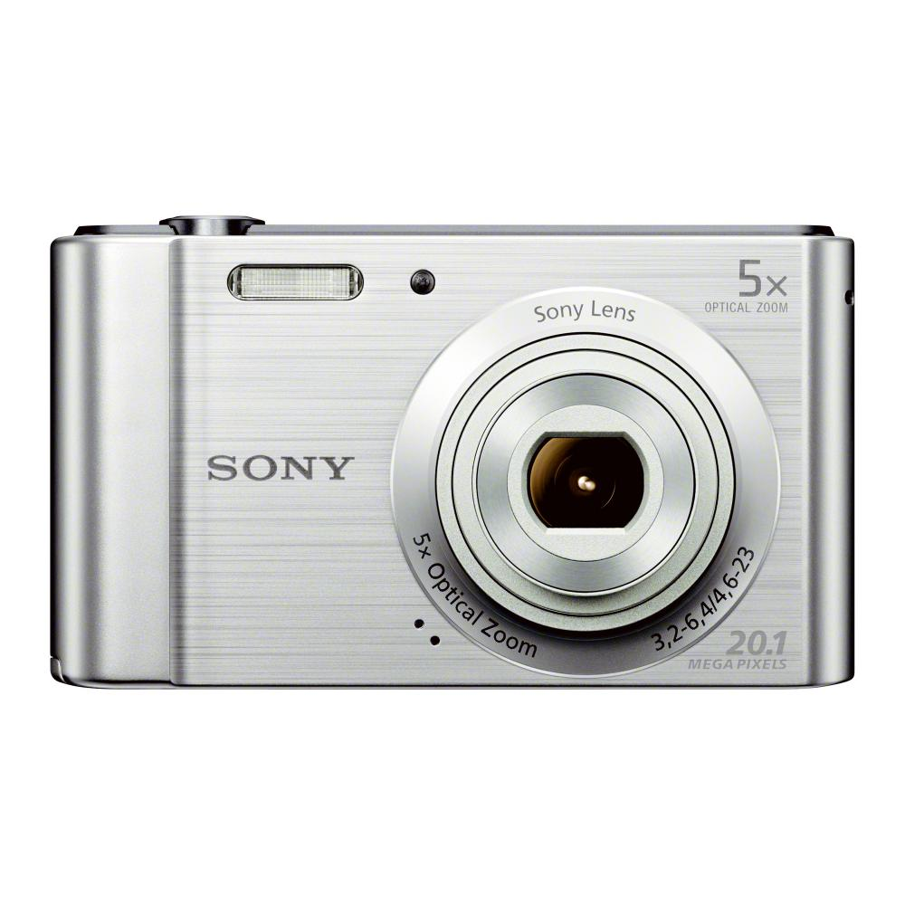 Sony Cyber-shot DSC-W800 20.1 Megapixel Digital Camera with 5x Zoom and 2.7in LCD, Silver