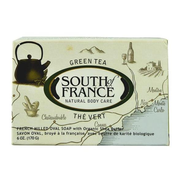 South of France Bar Soap Green Tea  (1x6 OZ)