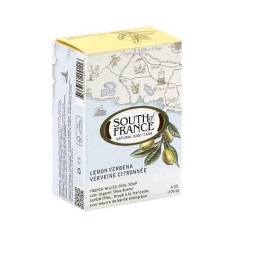 South Of France Bar Soap Lemon Verbena (1x6 OZ)