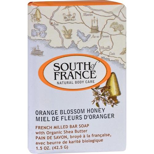 South of France Bar Soap Orange Blossom Honey (1x6 OZ)