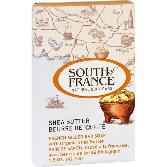 South of France Bar Soap Shea Butter  (1x6 OZ)