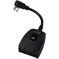 WW Outdoor WiFi Outlet Black