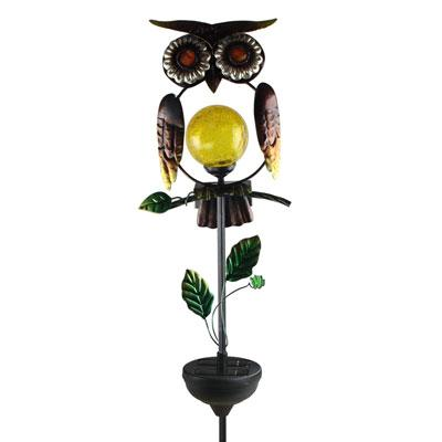 MR Owl Stake Light Bronze