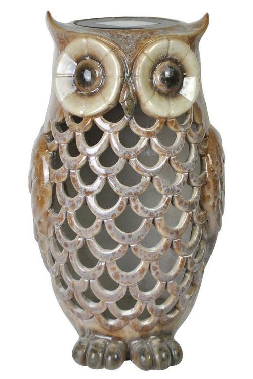 MR Owl Solar Light Tan