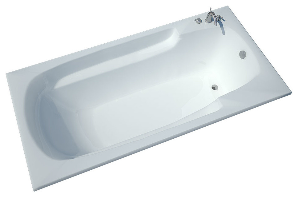 Aesis 36 x 72 Rectangular Soaking Bathtub