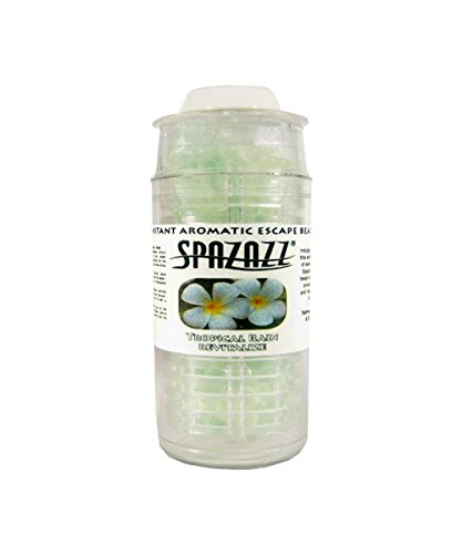 Fragrance, Spazazz, Beads, Tropical Rain, 5oz Cartridge