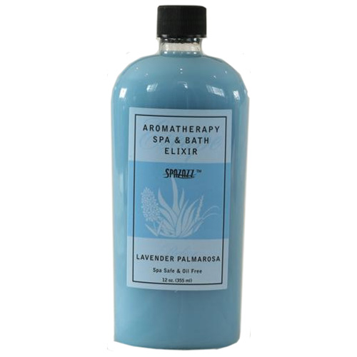 Fragrance, Spazazz, Elixir, Lavender Palmarosa, 12oz Bottle