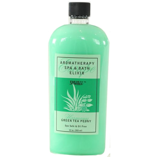 Fragrance, Spazazz, Elixir, Green Tea, 12oz Bottle
