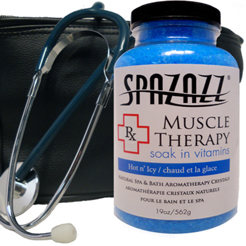 Aromatherapy, Spazazz, Rx Crystals, 19oz, Muscular Therapy