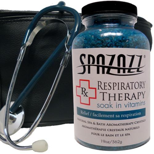 Aromatherapy, Spazazz, Rx Crystals, 19oz, Respiratory Therapy