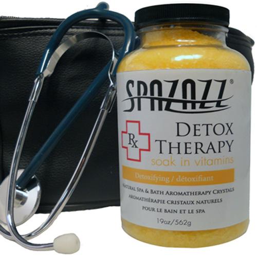 Aromatherapy, Spazazz, Rx Crystals, 19oz, Detox Therapy