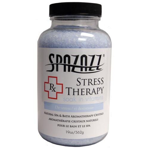 Aromatherapy, Spazazz, Rx Crystals, 19oz, Stress Therapy
