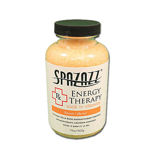 Aromatherapy, Spazazz, Rx Crystals, 19oz, Energy Therapy
