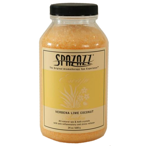 Fragrance, Spazazz, Crystals, Verbena Lime Coconut, 22oz Jar