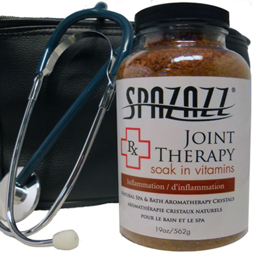 Aromatherapy, Spazazz, Rx Crystals, 19oz, Joint Therapy