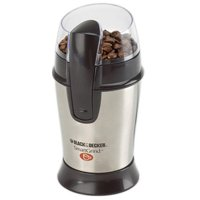Black Decker Coffee Bean Grinder Stainless Steel Black