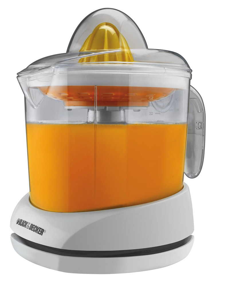 Black Decker 34oz Citrus Juicer White