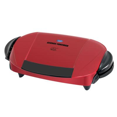 George Foreman Removable Plate Grill Red