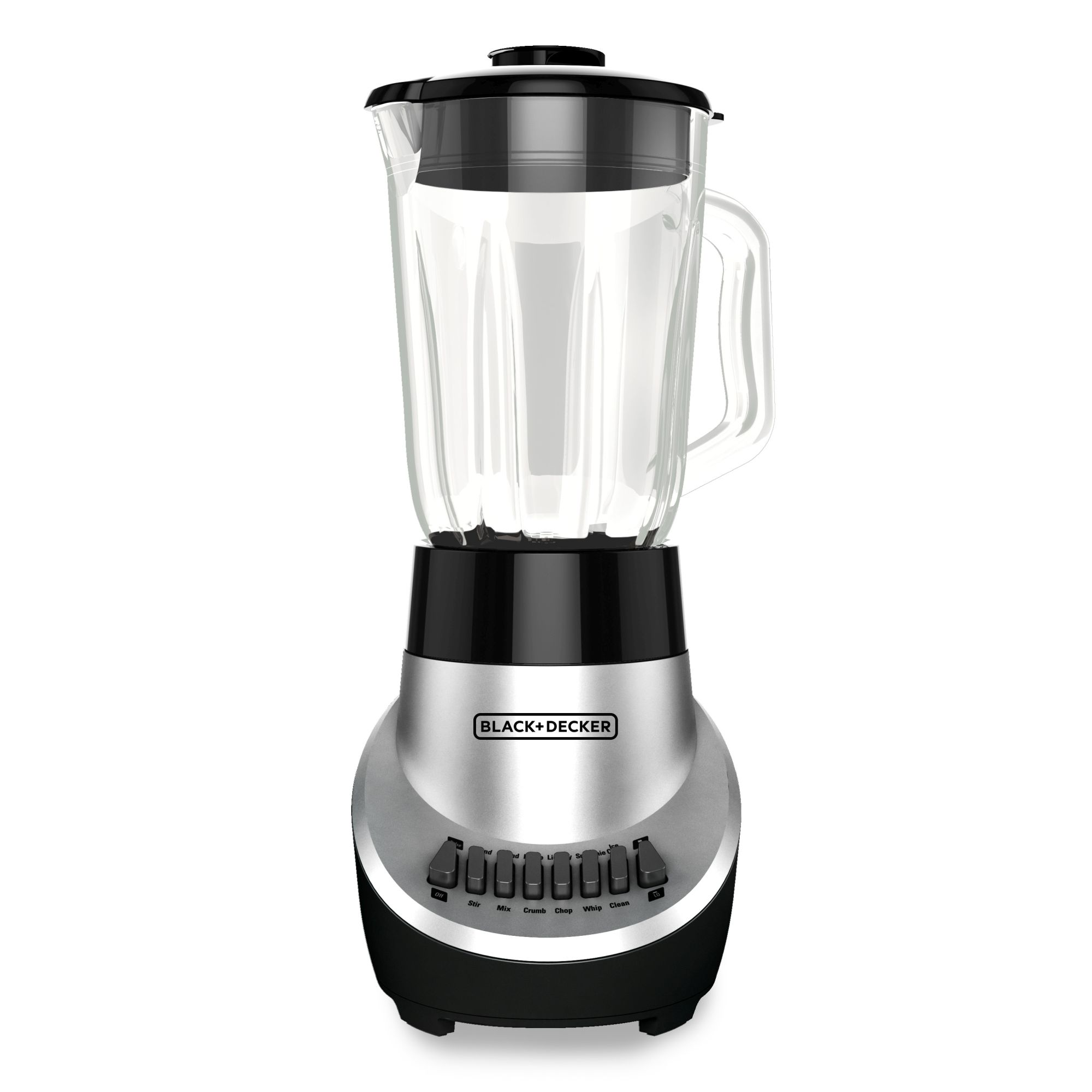 BD 12 Speed Blender Stainless Steel Black