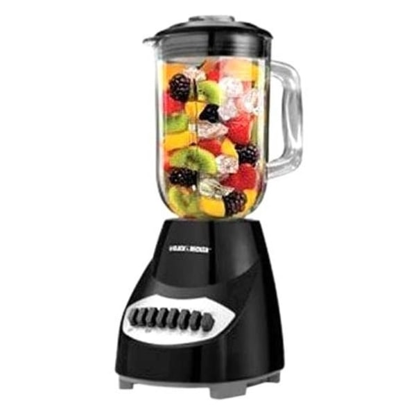 BD 10 Speed Blender Black Plastic