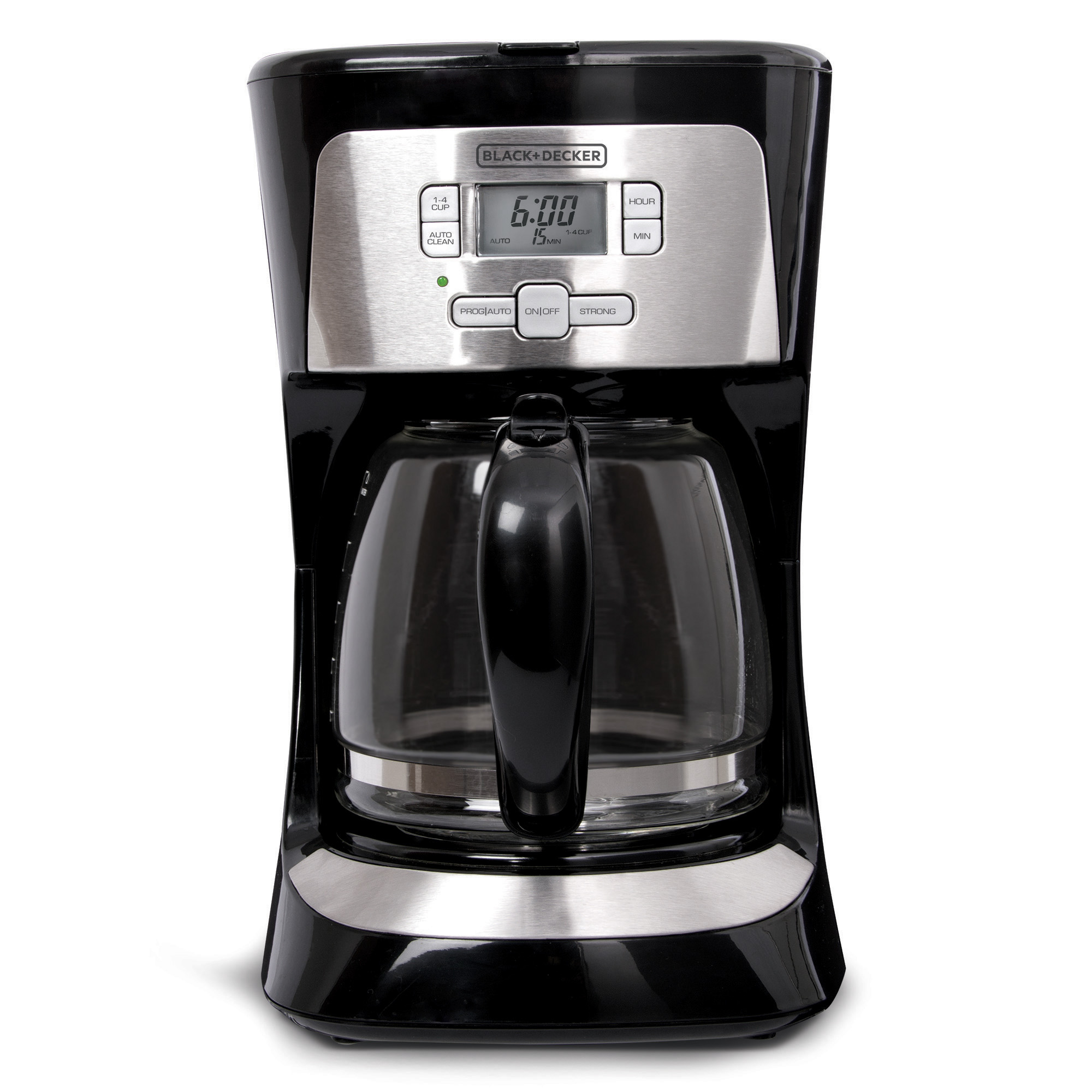 BD 12C Programmable Coffee SS Black