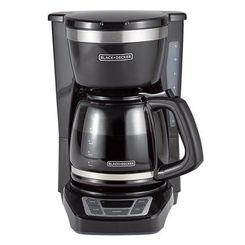 BD Drip Coffeemaker SS Wht