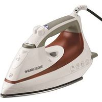 BD Steam Iron NonStick Blu Wht