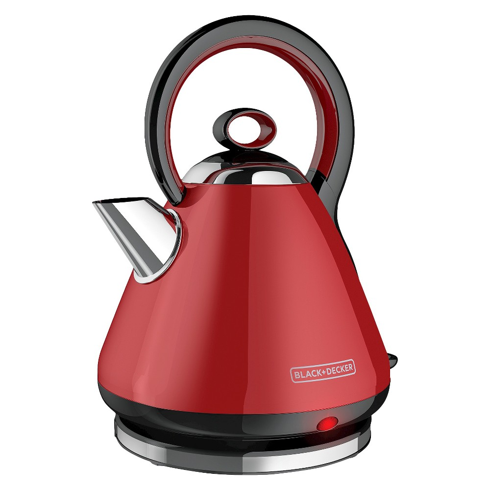 BD Electric Kettle SS Red