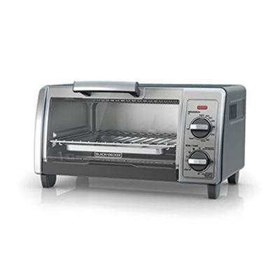 BD Toaster Oven 4Slice Silver