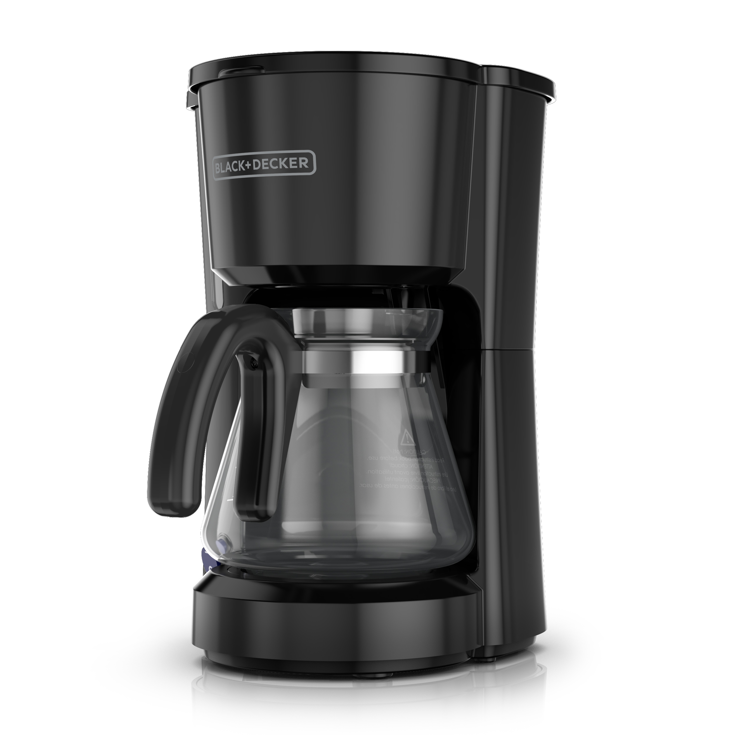 BD 5 Cup Coffeemaker Black