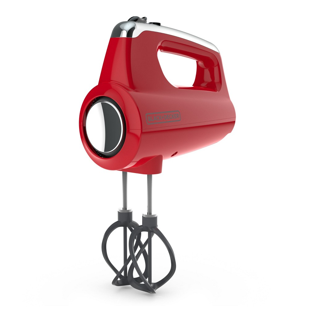 B&D Adv Helix Hand Mixer RED