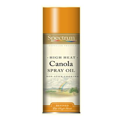 Spectrum Naturals High Heat Canola Skillet Spray ( 6x6 Oz)