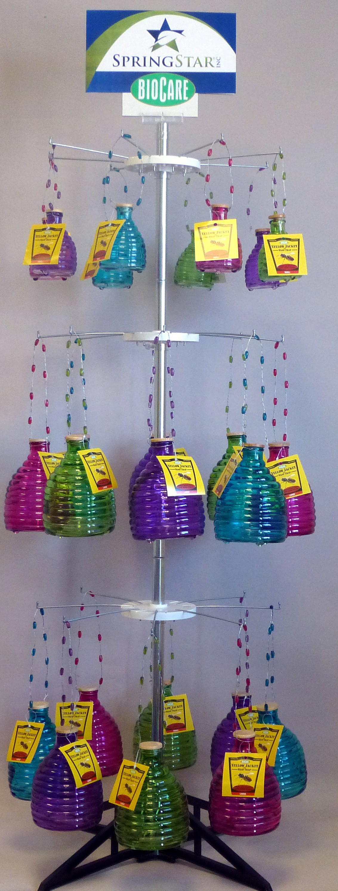 Glass Wasp Trap Display Package +FRT