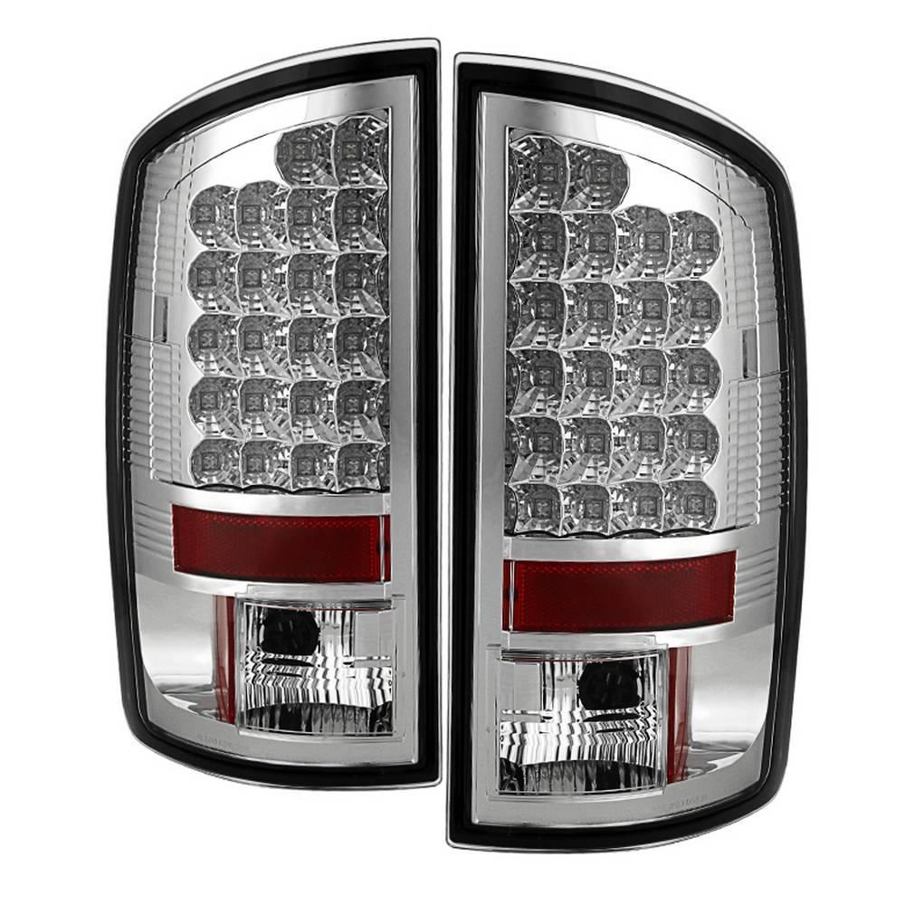 02-06 RAM 1500/03-06 RAM 2500/3500 LED TAIL LIGHT-CHROME