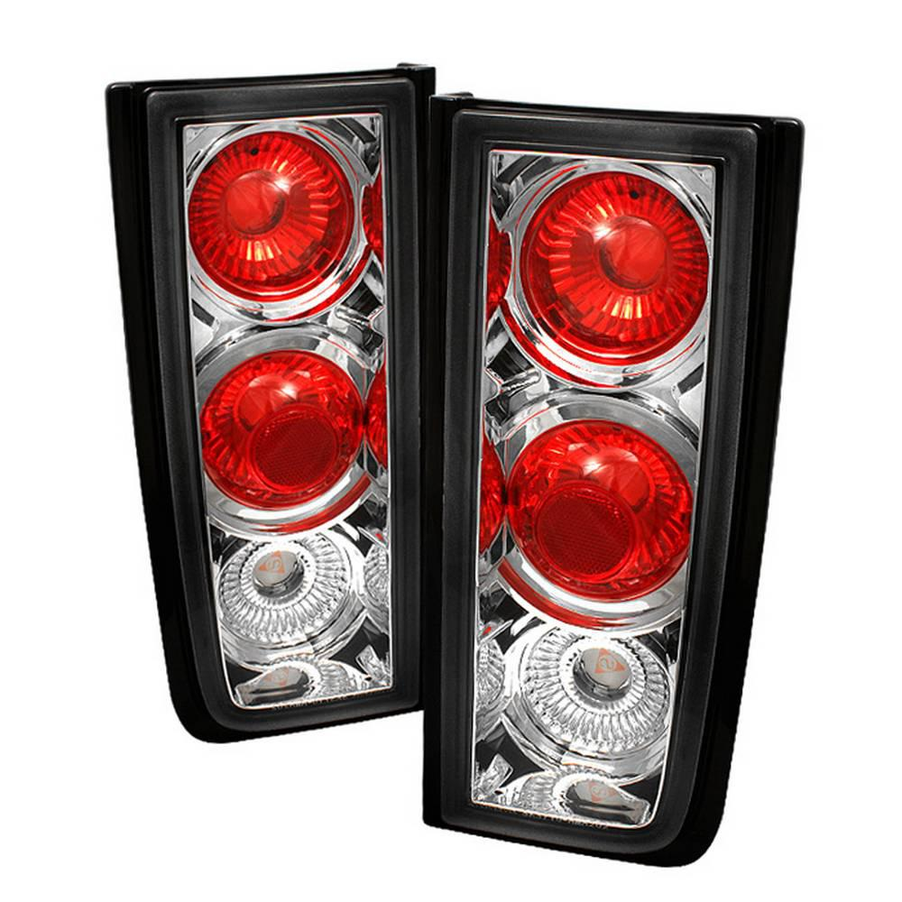 01-05 H2 ( NON H2T ) EURO STYLE TAIL LIGHTS-CHROME