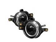 02-05 RAM1500/03-06 RAM 2500/3500 HALO PROJECTOR FOG LIGHTS W/SWITCH-CLEAR