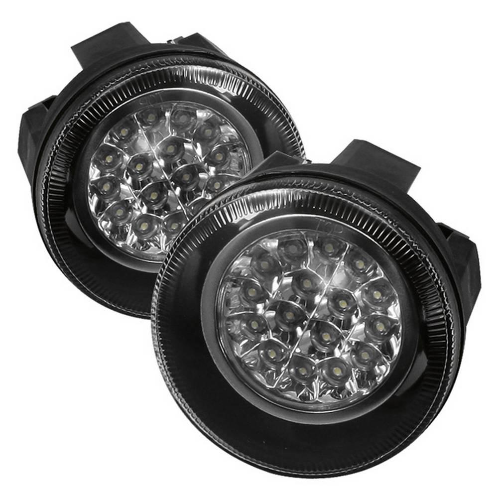 01-04 DAKOTA/01-03 DURANGO LED FOG LIGHTS W/SWITCH-CLEAR