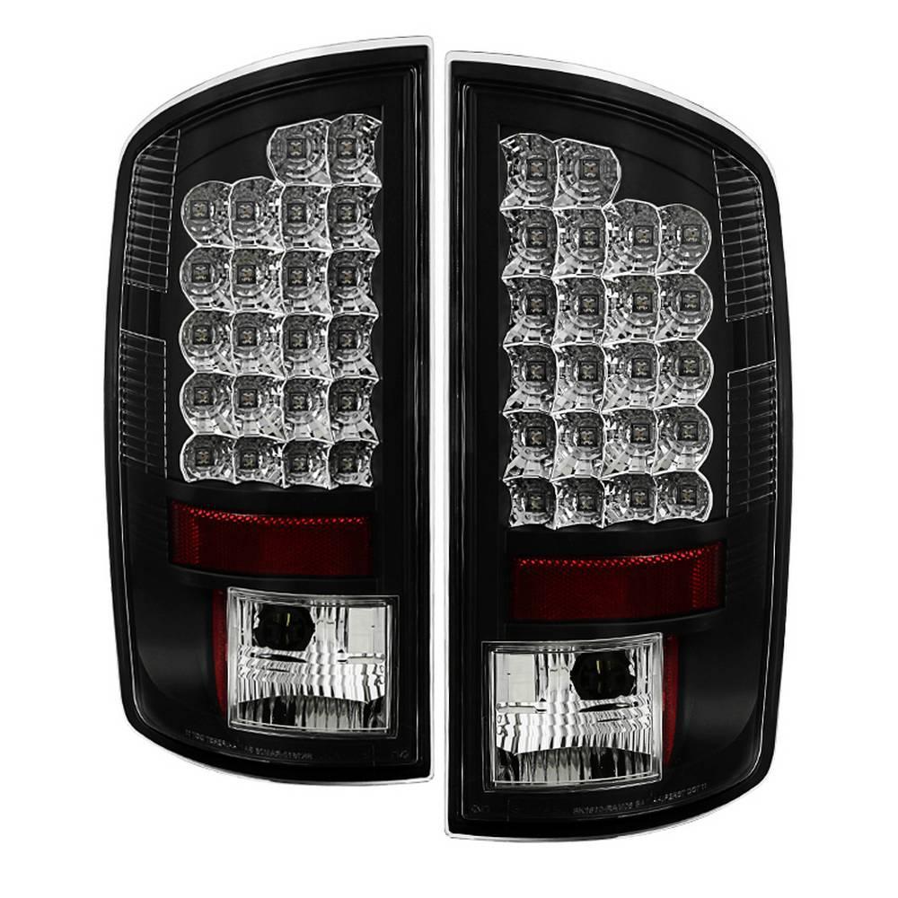 02-06 RAM 1500/03-06 RAM 2500/3500 LED TAILLIGHT-BLACK DRIVER/PASSENGER