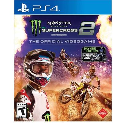 Monster Enrgy Supercross 2 PS4