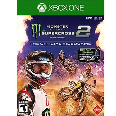 Monster Enrgy Supercross 2 XB1